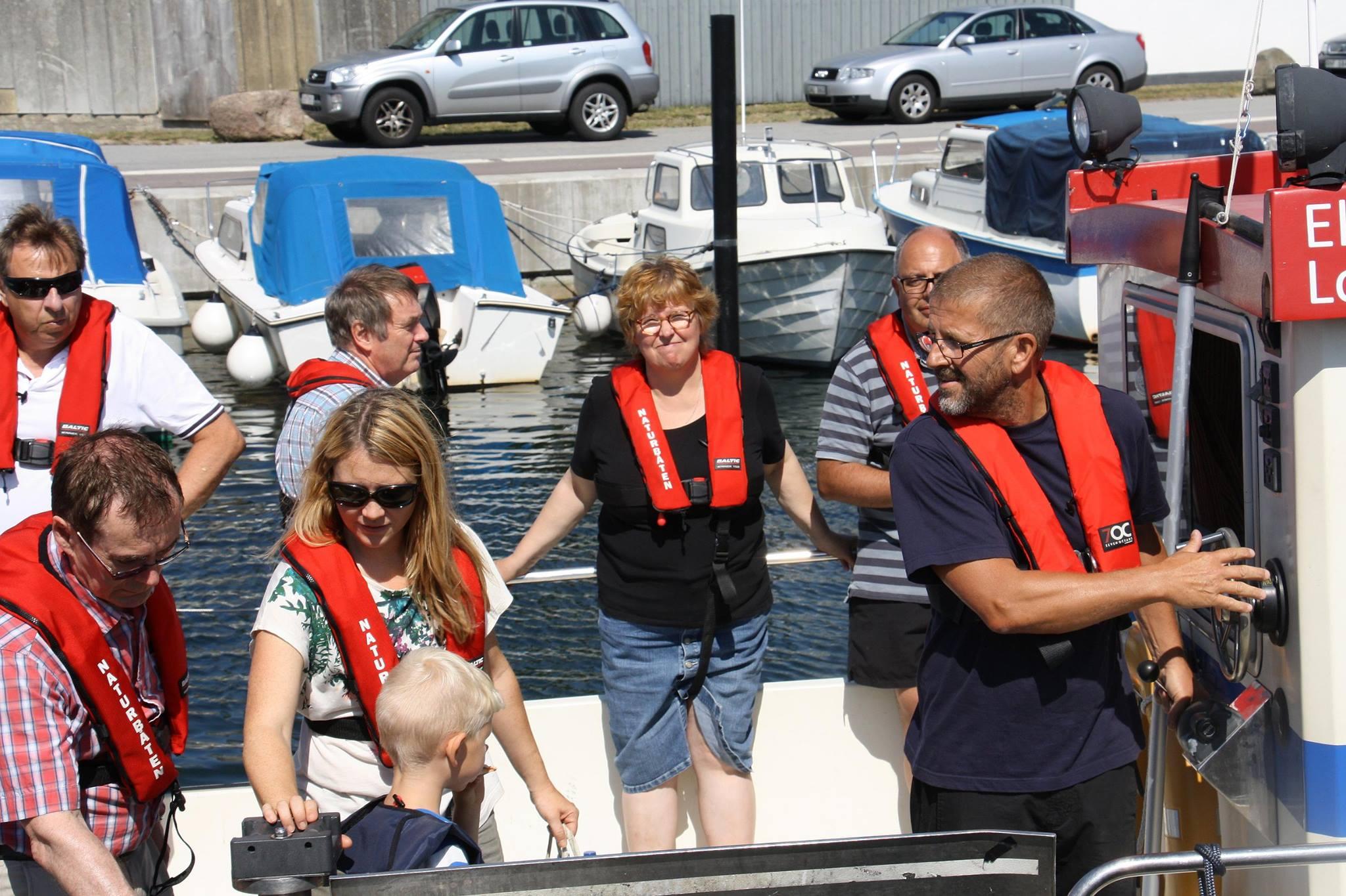 Bild för programpunkt SEA-U Marint Kunskapscenter – Naturbåten